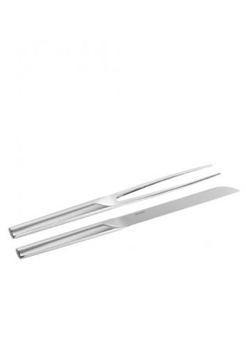 Tenedor y cuchillo de asado...