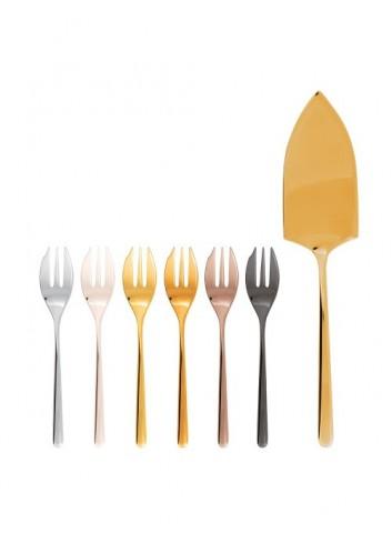 Juego 6 tenedores y pala de...