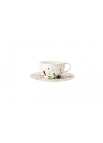 Taza y plato té capuccino...